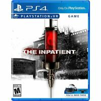 The Inpatient (Sony PlayStation 4  PS4 VR  PSVR) Brand New Factory Sealed