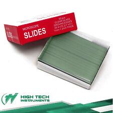 50pcs Pre Cleaned Blank Clear Glass Microscope Slides