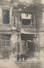 Foto AK Berlin Straßenkämpfe in Berlin Zerstörungen am Mittelportal Schloß 1928