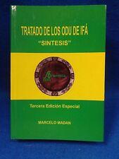Libro TRATADO DE LOS ODU DE IFA (SINTESIS) Marcelo Madan religion yoruba