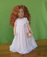 """Käthe Kruse Puppe IX Mädchen *VERONIKA der Lenz ist da"""" 35cm  2007 rote Haare"""