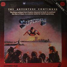 "SUPERMAN 2 - THE ADVENTURE CONTINÚA - LASERDISC 12"" 2 LD (O151)"