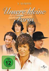 DVD UNSERE KLEINE FARM - STAFFEL 5 (Season) - Box-Set - MICHAEL LANDON ** NEU **