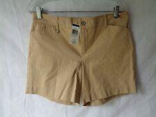 Ralph Lauren Women's Beige Hampton Khaki Shorts Size 4 NWT