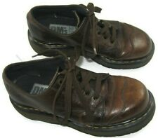 Vintage Women's Dr Doc Martens Heavy Thick Sole Boots Size 8 DMs made in England