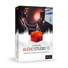 SOUNDFORGE Audio Studio 13 +NEW 2020 EDITION++ DISK AND DOWNLOAD +