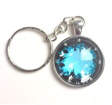 Alice in Wonderland Keychain or purse charm Key Ring UK Seller fast Delivery!