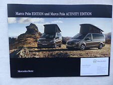 Mercedes-Benz Marco Polo 250d Activity Edition - Prospekt Brochure 08.2016