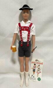 Mattel 1964 Ken Doll Fashion #776 Ken in Switzerland Travel Series (NO DOLL)