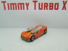 ? qué Hot Wheels 4 2 naranja de arrastre Mattel Tailandia 2004 75 mm de largo x