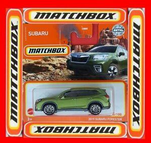 MATCHBOX 2021  2019 SUBARU FORESTER  10/100   NEU&OVP