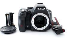 PENTAX Pentax K K-50 16.3MP Fotocamera SLR nera 6700 scatti dal Giappone [EXC +++]