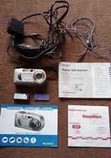 Sony Cyber-shot DSC-P10 5.0MP Digital Camera - Silver Boxed