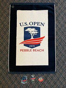 New 2019 US Open Pebble Beach Golf Towel, Bag Tag, Divot Tool & Ball Marker