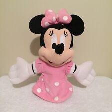 Minnie Mouse Glove Hand Puppet Pink Disney Hong Kong Disneyland
