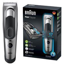 Braun HairClipper HC5090 Haarschneider Haarstyler silber/schwarz 2 Aufsätze