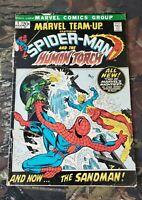 Marvel Team #1 1972 Spiderman Human Torch 1st Misty Knight Low Grade CS