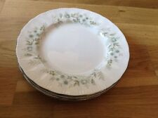 1st Quality Paragon Debutante Pattern 5 Salad Plates 8 Inches in Diameter.