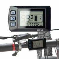 36V E-Bike LCD Control Panel Display For Electric Bicycle DIY Conversion Kits AU