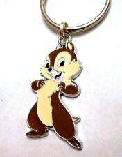 Chipmunk Key Chain - Chip or Dale Cartoon Enamel Us Seller Free Shipping