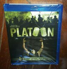 Platoon (Blu-ray, 2011, Widescreen) Charlie Sheen/Tom Berenger/Willem Dafoe!