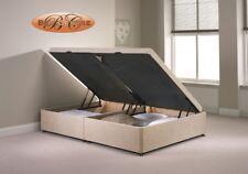 Divan Ottoman Side Lift Storage Bed Single 4'6 Double 5ft King Size Chenille …