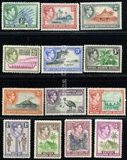 SOLOMON ISLANDS 1939 SG 60-72 SC 67-79 VF OG MNH-MLH? ** COMPLETE SET 13 STAMP