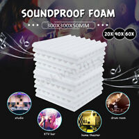 4PCs Acoustic Panels Tiles Studio Sound Proofing Insulation Closed Cell Foam