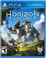 Horizon: Zero Dawn (Sony PlayStation 4, 2017) - Used