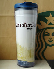 Starbucks City Tumbler Global Icon Series Amsterdam Netherlands 12oz NEW