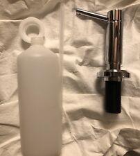 Kallista Soap Dispenser Vir Stil Minimal collection by Laura kirar (Retail $320)