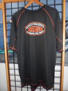 NOS Harley Davidson Mens Reglan Shirt