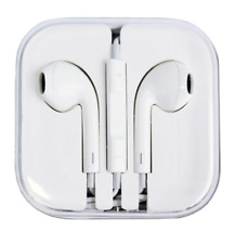 New Volume Control Mic Headphone Earphone for iPhone 6 6S Plus 5 5S 4 4S(white)