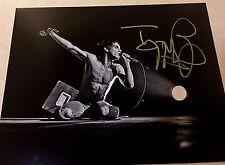 The Stooges IGGY POP  Signed 11x14 Photo JSA Q85370
