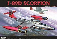 Academy 12403 F89D Scorpion 1/72 Plastic scale model kit