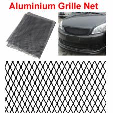 New 12x6mm Automobiles Car Bumper Body Front Grille Mesh Rhombus Style Net Black