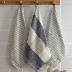 Nordic Hanging  Cloth  Absorbent  Cotton Kitchen Hand Towels Household