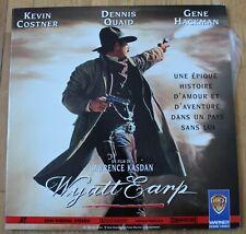 Wyatt Earp - Kevin Costner - Dennis Quaid, double laserdisc - video laser