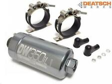 DEATSCHWERKS DW350iL In-Line External Swirl Pot Fuel Pump Kit  350LPH High Flow