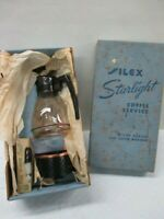 Silex Vintage Mid Century Modern Coffee Tea Carafe Warmer Candle Cup (ARE)