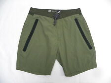 Quiksilver Sonic Olive Boardshorts Sz 32 M SEQYWS03