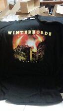 WINTERHORDE - NEBULA SHIRT -  L Dark fortress septicflesh dagor orphaned dimmu