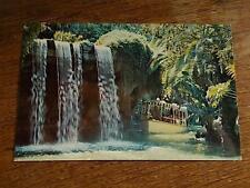 Vtg 1970s DISNEYLAND Postcard Schweitzer Falls Adventureland Walt Disney Prod