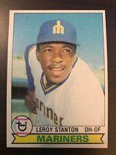 1979 Topps Leroy Stanton Seattle Mariners 533