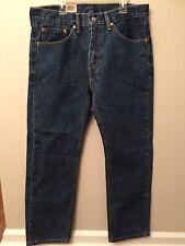 Levis Mens 32 X 30 505 Regular Straight Leg Jeans