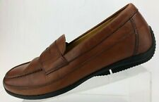 Polo Ralph Lauren Penny Loafers Adante Brown Moc Toe Driving Moccasin Mens 10.5D