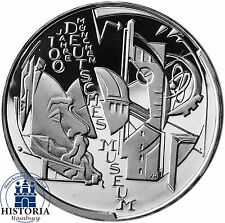 Alemania 10 euro Deutsches Museum Múnich 2003 espejo brillo plata-moneda