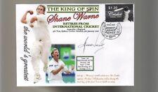 SHANE WARNE 'THE KING OF SPIN' FINAL TEST CRICKET COV 9