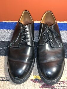 Men's VTG Red Wing POSTMAN Black Leather Shoes Size 13 B 15134
