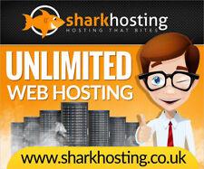 **1 Year** Unlimited Website Web Hosting €1 @ SharkHosting.co.uk SSL